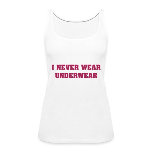 Women's Premium Tank Top - Tags [ladies]