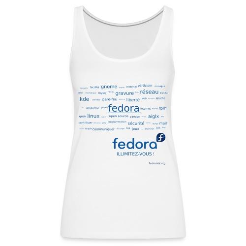 fedora-tags - Débardeur Premium Femme