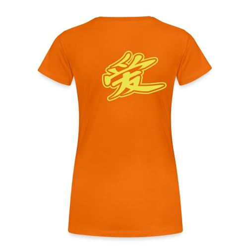 I am love - T-shirt Premium Femme