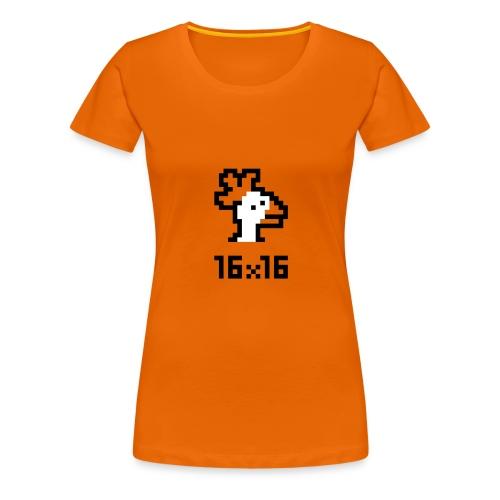 16x16 ouazo 4 - T-shirt Premium Femme