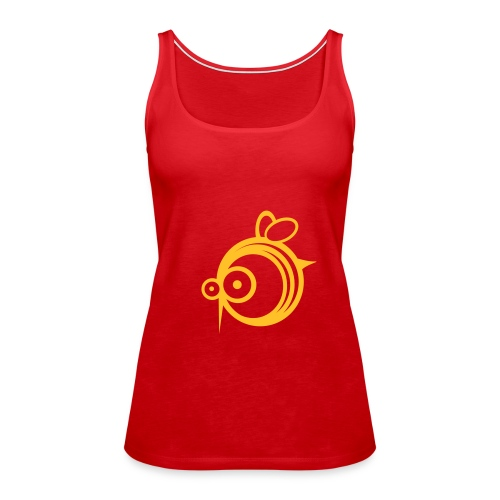 Bee Girlie - Camiseta de tirantes premium mujer