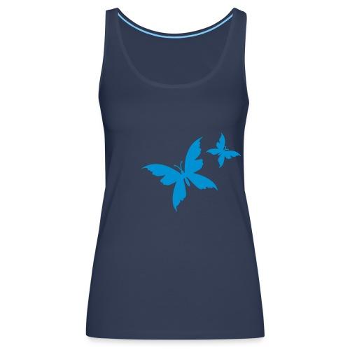 Butterflies - Women's Premium Tank Top
