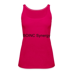 Frauen Premium Tank Top - BOINC Synergy