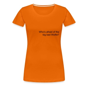 Girls 'Who's Afraid...?' Tee - Women's Premium T-Shirt