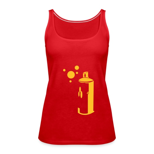 Fukaduk Spraycan Girlie - Vrouwen Premium tank top