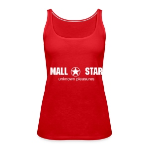 New Womens Spaghetti (red) - Women's Premium Tank Top