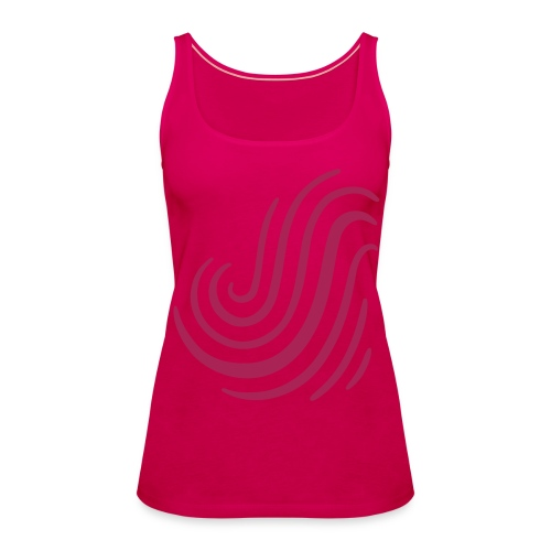 Swish Pink Top - Women's Premium Tank Top