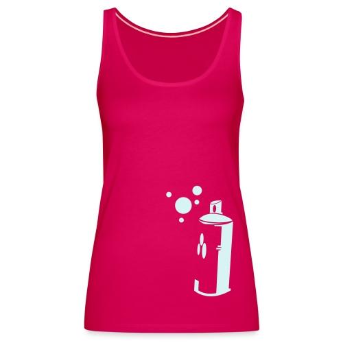 sprayer pink girly - Women's Premium Tank Top