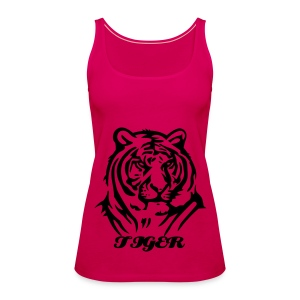 Tiger - Premium singlet for kvinner