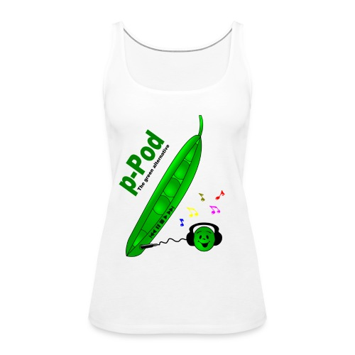 p-Pod Racer Back Shirt - Women's Premium Tank Top