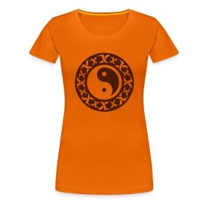 Shirt Kreis - Frauen Premium T-Shirt
