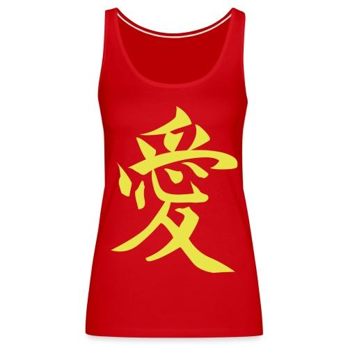 Amour de Chine - Débardeur Premium Femme
