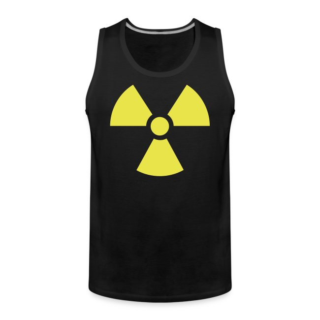 sleefless shirt radioactive