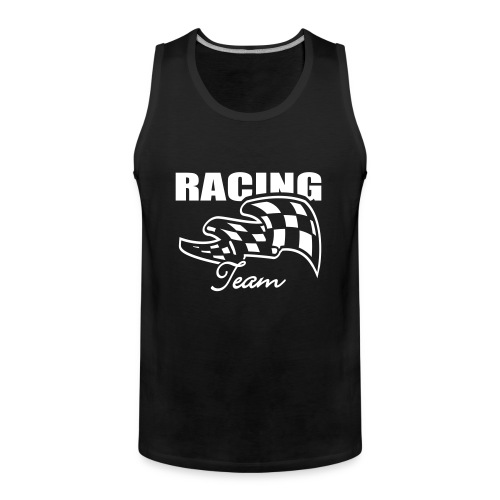 Racing team - Mannen Premium tank top