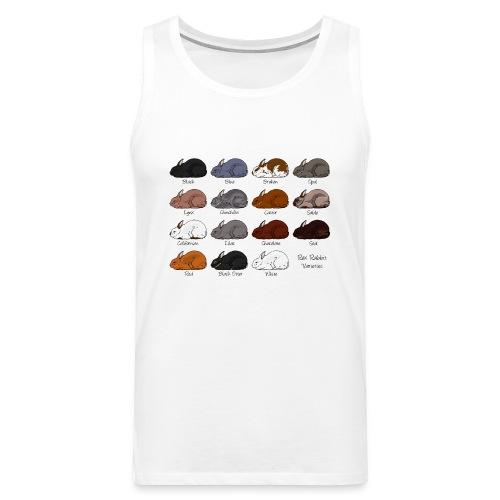 Rex Rabbit Colours - Men's Premium Tank Top