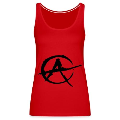 Anarchy Girl - Frauen Premium Tank Top