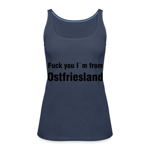 Top, himmelblau - Frauen Premium Tank Top