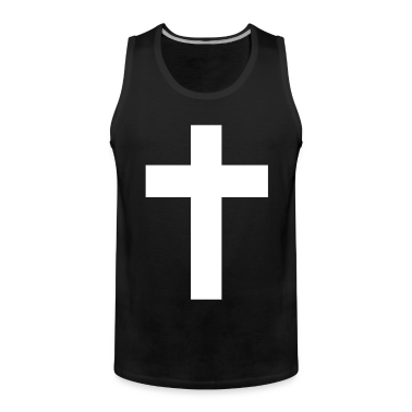 Black cross jesus  T-Shirts