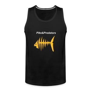 Sleeveless Pike & Predators t-shirt - Men's Premium Tank Top