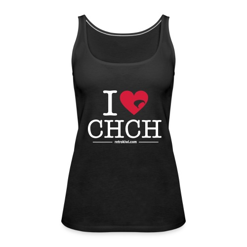 I Love CHCH - Women's Premium Tank Top
