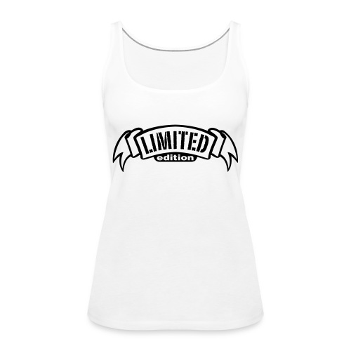 Limited White - Women's Premium Tank Top