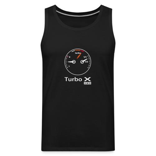 Exclusive Turbo X muscle T-shirt - Men's Premium Tank Top