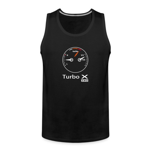 Exclusive Turbo X muscle T-shirt - Men's Premium Tank Top
