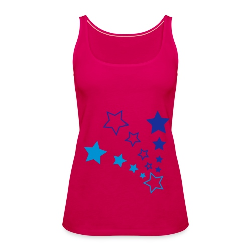 pink star - Premiumtanktopp dam