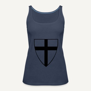Koszulka krzyżacka 5 - Tank top damski Premium