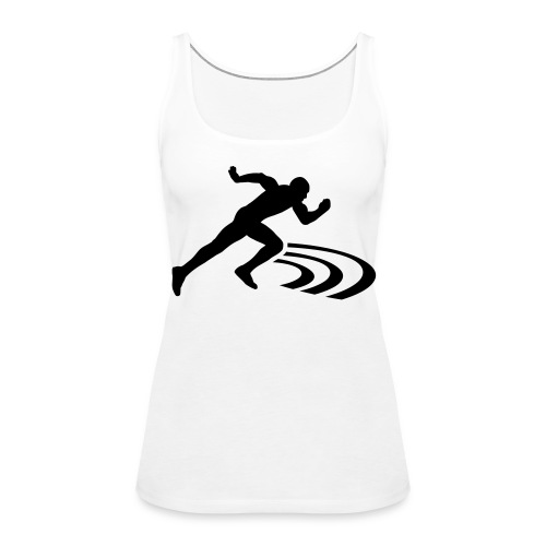Track star! - Women's Premium Tank Top