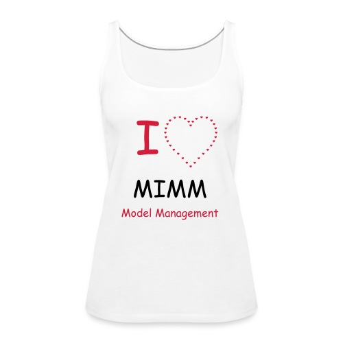 WHITE Vest - Women's Premium Tank Top