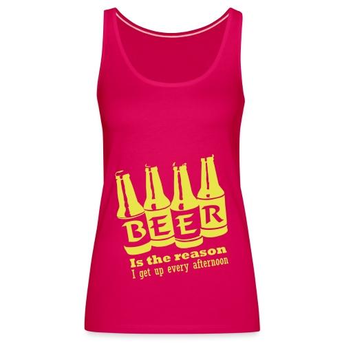 debardeur beer - Débardeur Premium Femme