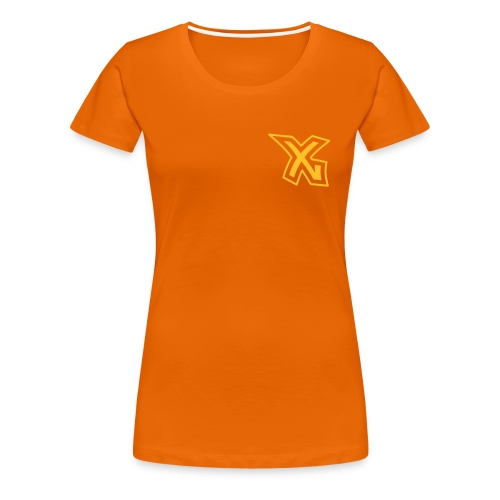 X-Dream Fan-Shirt mit Name - Frauen Premium T-Shirt