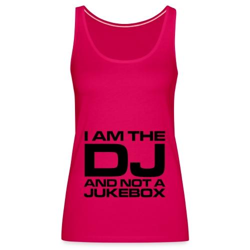 The DJ - womens V - Women's Premium Tank Top