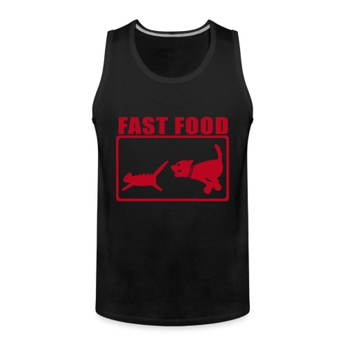 fast food  - Men's Premium Tank Top