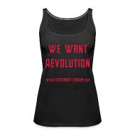 Tops ~ Frauen Premium Tank Top ~ We Want 2 Tank