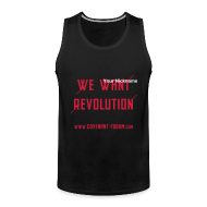 Sportbekleidung ~ Männer Premium Tank Top ~ We Want 2 Tank