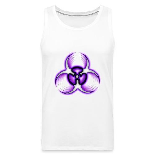 Biohazard Purple - Premiumtanktopp herr