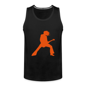 guitarist - Men's Premium Tank Top