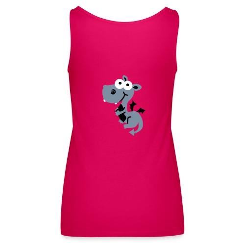 TOP ESPAGUETTI - Camiseta de tirantes premium mujer