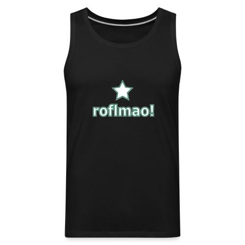 roflmao - Men's Premium Tank Top
