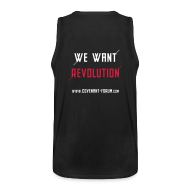 Sportbekleidung ~ Männer Premium Tank Top ~ We Want 1 Tank