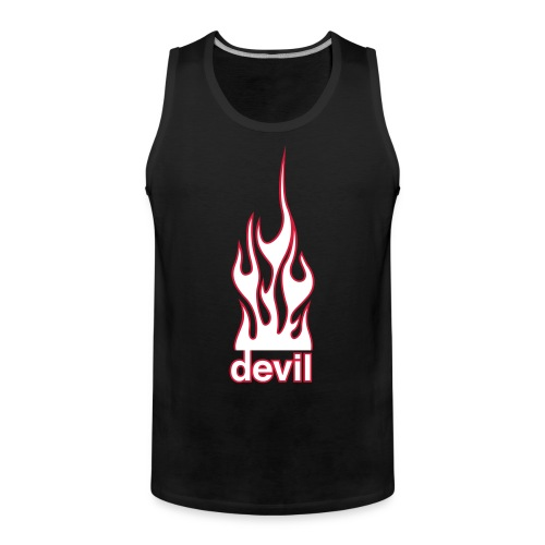 mens devil tank top - Men's Premium Tank Top
