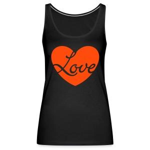 Love 01 - Débardeur Premium Femme