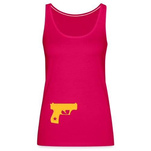 tough girl - Frauen Premium Tank Top