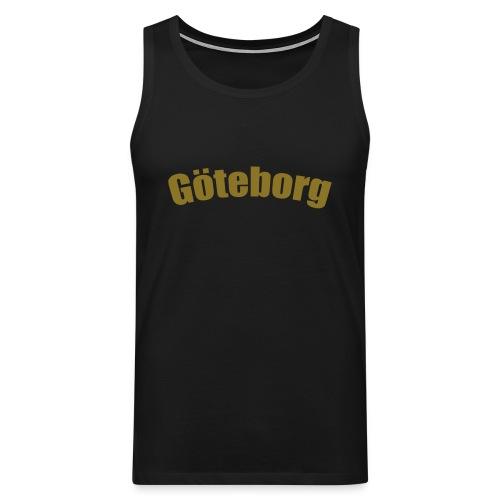 Göteborg (Glenn army) - Premiumtanktopp herr