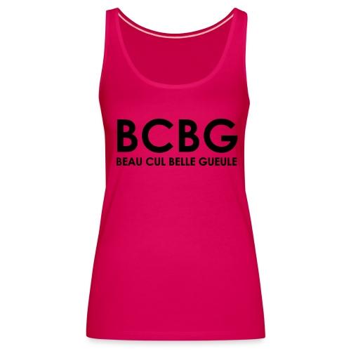 debradeur femme rose BCBG - Débardeur Premium Femme