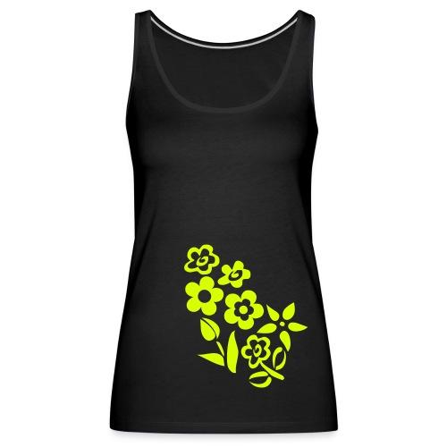 Flower - Women's Premium Tank Top