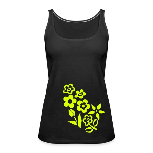 Flower - Women's Premium Tank Top