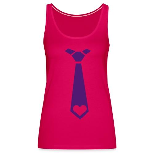 Débardeur cravate - Débardeur Premium Femme